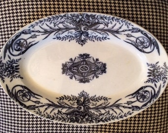 Antique French Louis XVI Pexonne Platter
