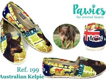 Australian Kelpie Shoes !! Women Shoes, Dog Lovers, Dog Breeds