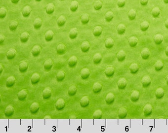 Green Fabric Minky Etsy