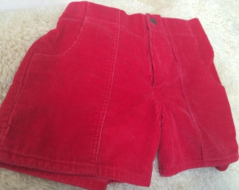 Sz 28 80s OP shorts/surfer shorts/OP shorts/corduroy shorts/vintage high waisted shorts