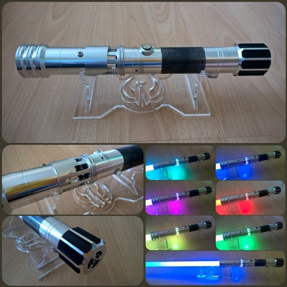 Custom Perpetulus Rgb Lightsaber With Sound And 6