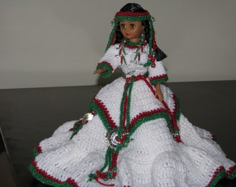 Christmas Indian Princess Doll