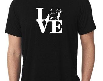 Love Beagle T-Shirt park beagles T16