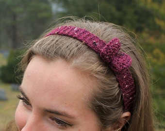 VARIETY* Knitted Hairbow Headbands