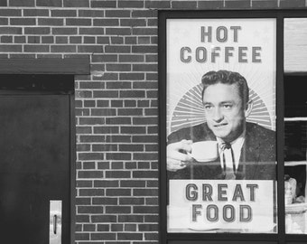 Cash and Coffee | Johnny Cash Sign in Nashville, TN