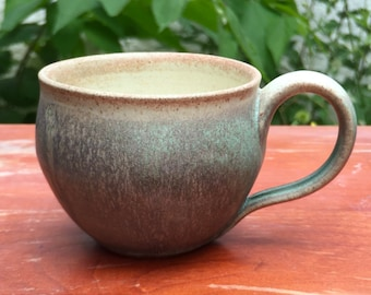 Cream and Pale Sage Mug
