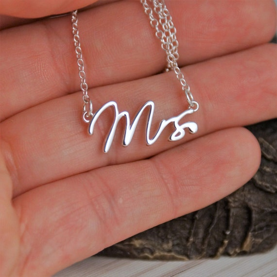 Bride to be Necklace in 14K Gold, Rose Gold or Sterling Silver Necklace / Everyday necklace / Bride gift from groom Necklace