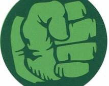 Marvel's The Incredible Hulk Fist Logo Scrapbook Die-cut