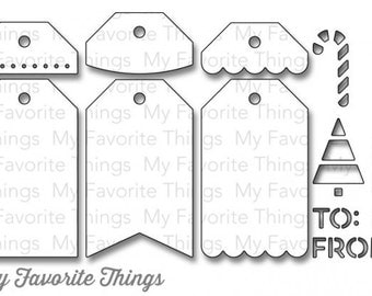 My Favorite Things Tag Builder 2 Dienamic Set