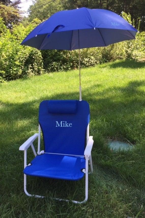 Beach Chair Personalized Beach Chair W Carry Strap