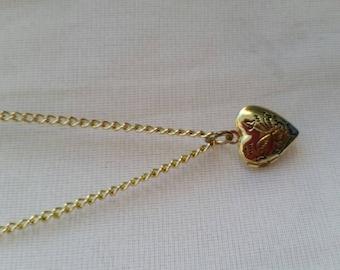 Tiny heart locket (nickel free/ hypoallergenic)
