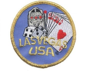 Las Vegas Gaming Patch - Poker, Craps, Slots