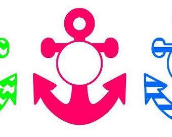 Monogrammed Anchor || Anchor ||