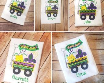 Mardi Gras Shirt! Boys Mardi Gras Shirt! Girls Mardi Gras Shirt! Fat Tuesday Shirt!