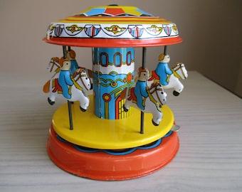 Tin Toy Carousel