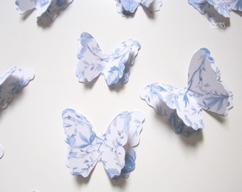 Backdrop Wall 3D Paper  Butterflies - pack of 20