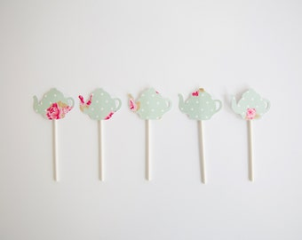 Tea party Shabby Chic Toppers