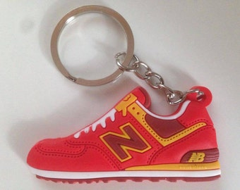 New balance Keychain ML 574 red-yellow keychain