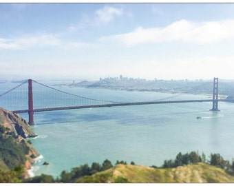 Postcard -Golden Gate - San Francisco