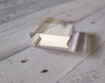 Small Acrylic Block (1.5x2inches) 38x50mm for Clear Photopolymer Stamping for Planners