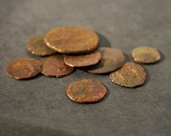 Lot of 9  Roman Empire Coins, Authentic, Ancient Coins