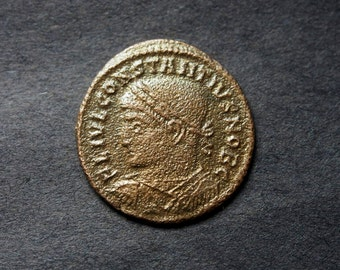 Roman Coin - Constantine II (AE3) - Authentic, Ancient Coin