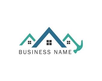 Logo Roof House Hammer