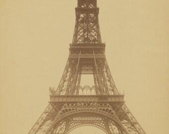 Vintage Photo Digital Instant Download Eifel Tower Papercrafting Scrapbooking