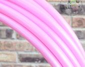 """Pale Pink 3/4"""" Custom Polypro Hoop"""