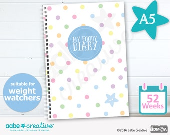 My Foody Diary : suitable for Weight Watchers