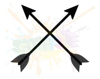 Tribal Arrow SVG - Files For Silhouette Studio and Cricut Design Space.
