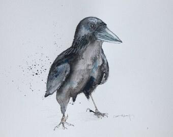 Original Illustration: Crow