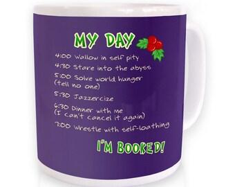 Christmas To Do List mug