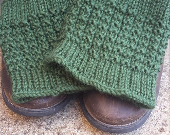 Knitted Boot Cuffs, Boot Socks