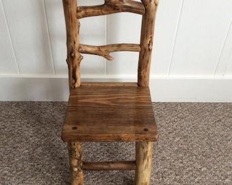 Kids Rustic Chair
