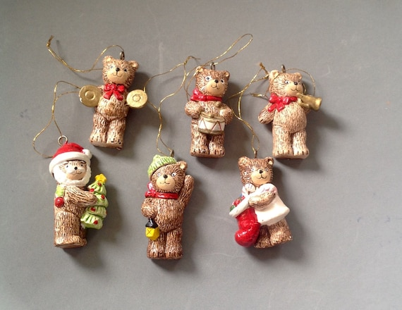 Teddy Bear Christmas Tree Ornaments/Mini Teddy Bear