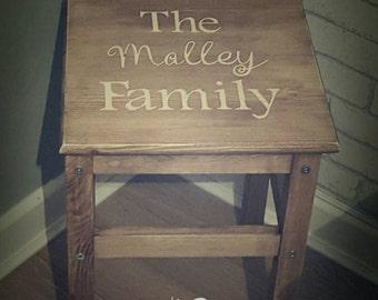Childrens large stool