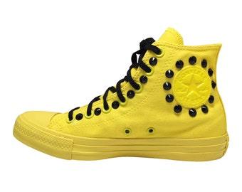 "converse ALL STAR ""monochrome"" spring/summer 2016 yellow"