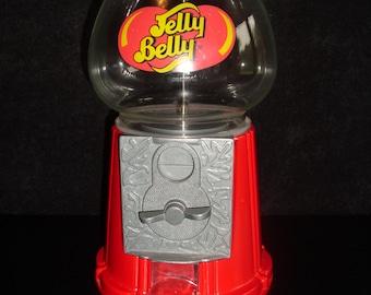Gourmet Jelly Belly Bean Candy Dispenser Coin Op Die Cast Machine