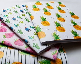 A Set of 4 Notebook with 40 blank pages