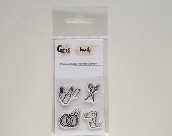 Clear Stamps_ mini _ beauty _ 001
