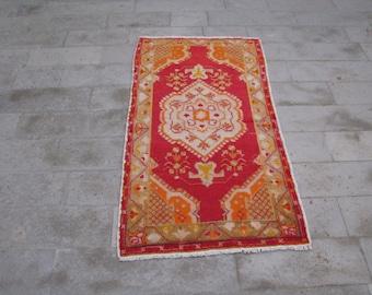 OUSHAK RUG-VINTAGE Turkish Oushak Rug-Happy Color Rug-Unique Rug-Handmade Rug-Unique Carpet-Silky Wool Rug-Cute Rug-Original Turkish Oushak