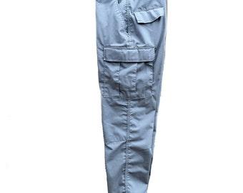 Small Regular Law Pro BDU Combat Trousers Grey Tactical Cargo Pants