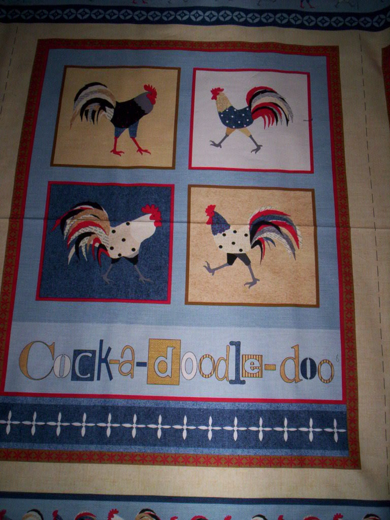 Sale Cock A Doodle Doo Debbie Taylor Kerman Henry Glass