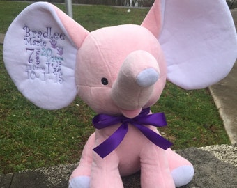 Birth Announcement Stuffed Animals