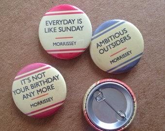 Badge Set - Morrissey
