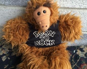 Vintage Alf Puppet, Alf Alien puppet, Born to Rock Alf, Burger King Alf Puppet