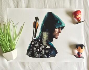 The Green Arrow - A3 Print