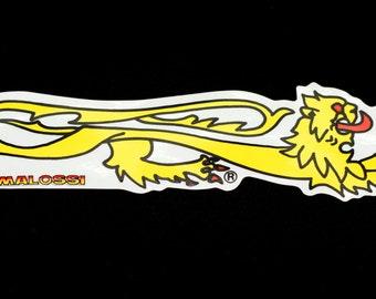Vespa Scooter Malossi 'Lion' Sticker/Decal