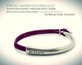 Stroke Awareness Bracelet